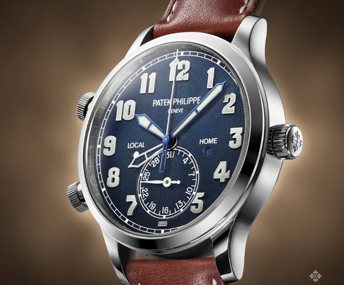 百达翡丽机械手表