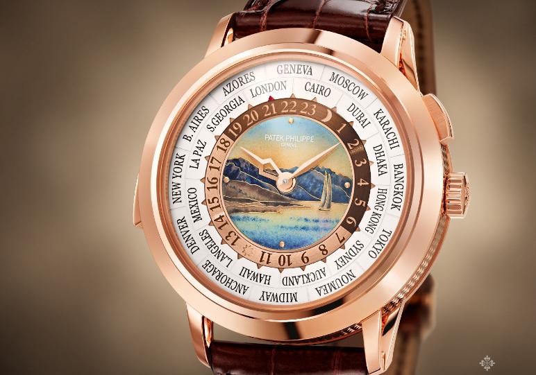 百达翡丽手表表镜