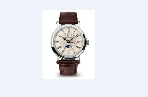 百达翡丽手表维修服务中心的维修好的腕表展示