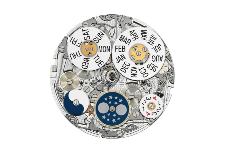 百达翡丽腕表进水后机芯的展示