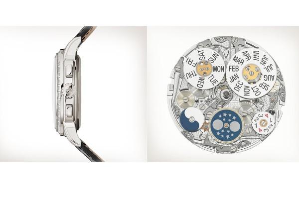 图示百达翡丽腕表机芯展示