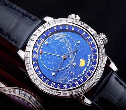 【北京百达翡丽售后】百达翡丽天体腕表的特色(图)